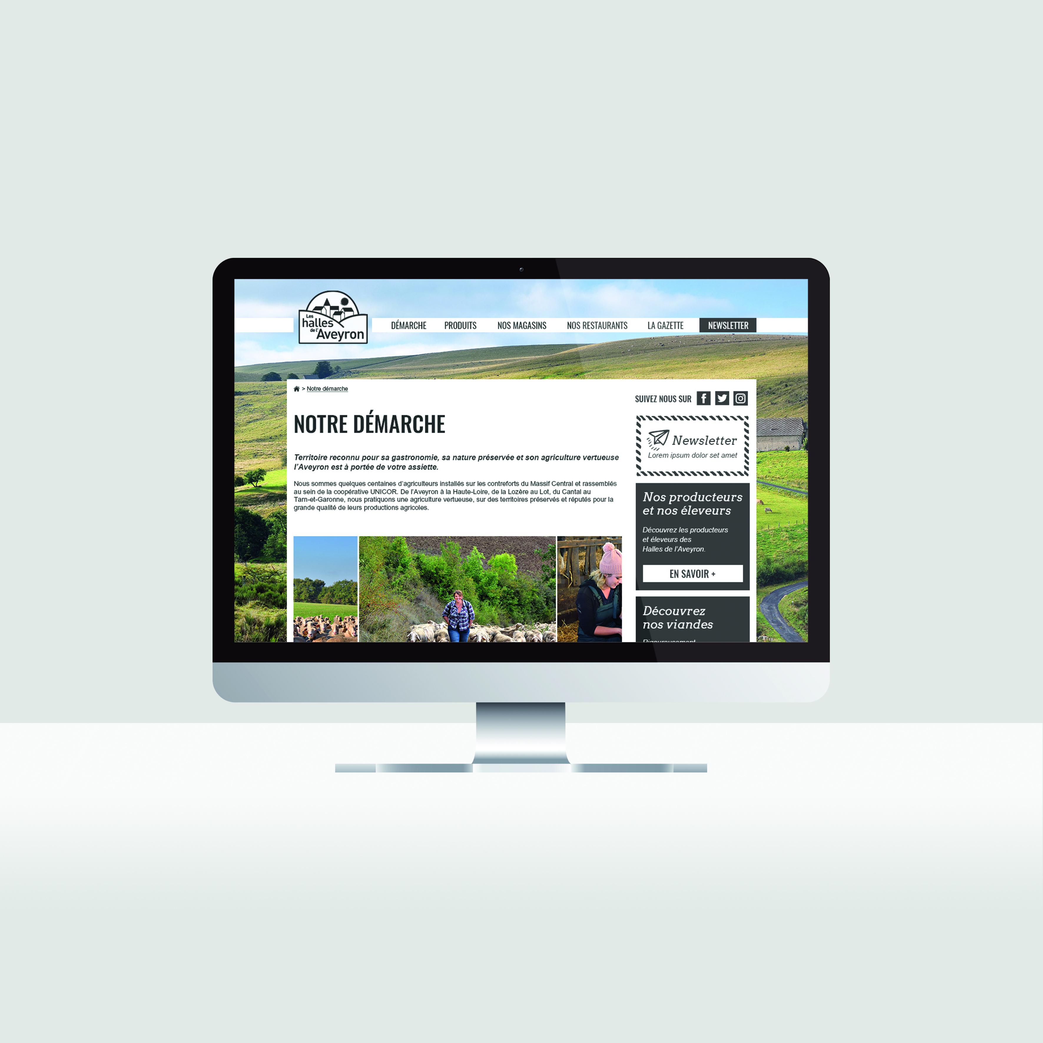 HDA – Création d'un site vitrine