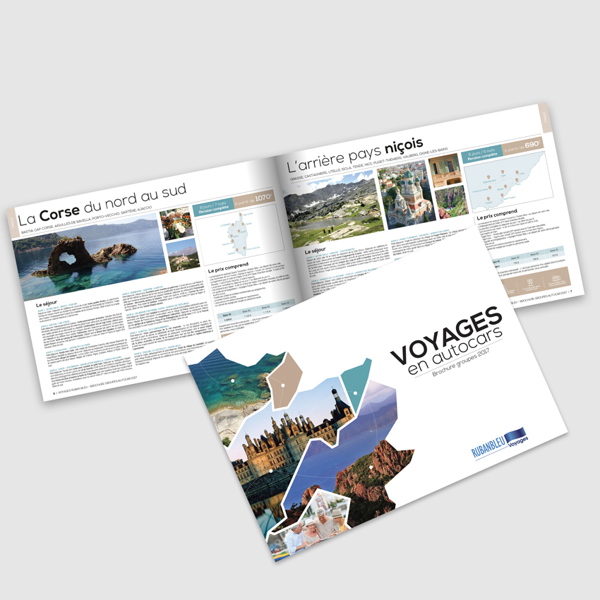 Voyages Ruban Bleu - Catalogue des séjours en autocars