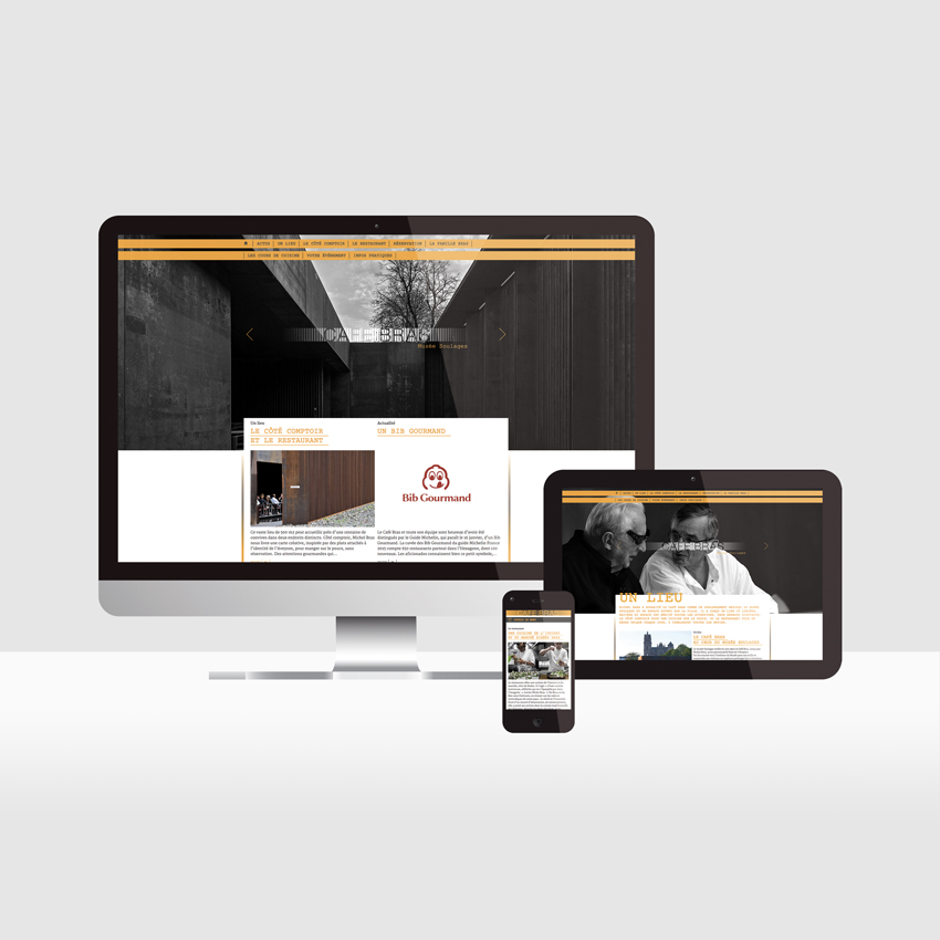 Maison Bras – Site web du Café Bras