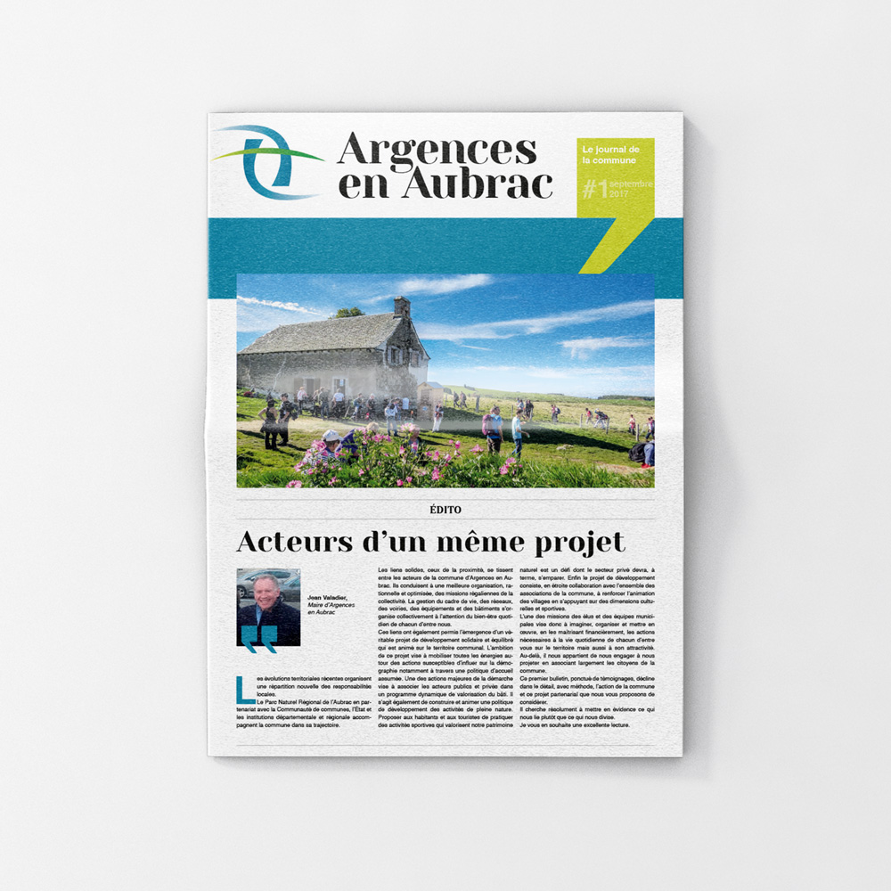 Journal de la commune Argences-en-Aubrac