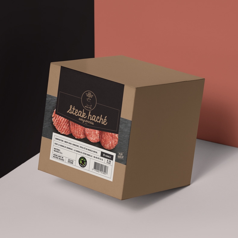 La Goudalie – packaging