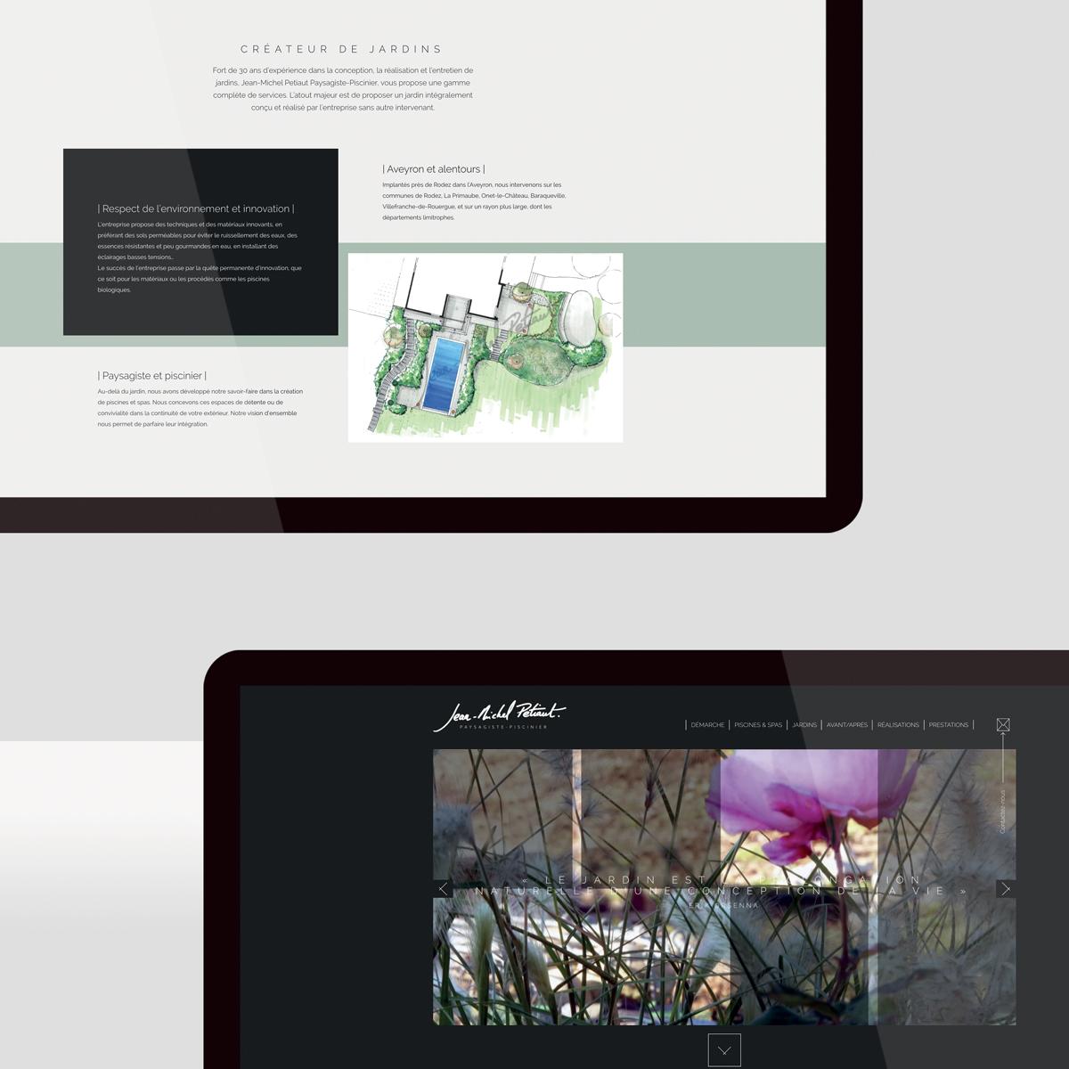 Petiaut Paysagiste – site web