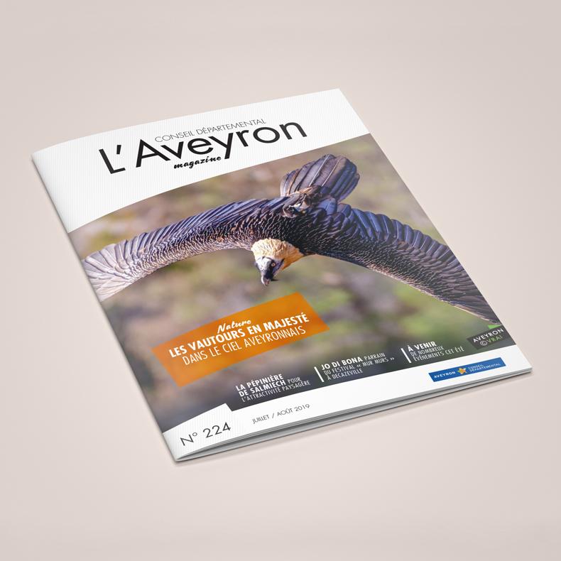Couverture de l'Aveyron Magazine