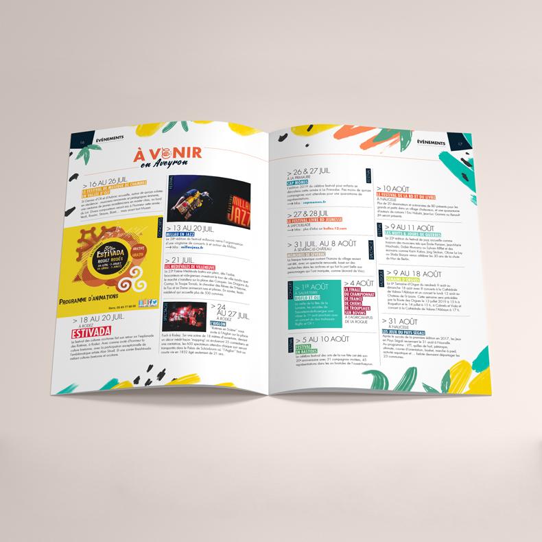 Pages agenda de l'Aveyron Magazine